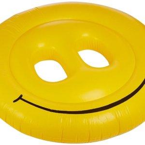 160CM-Smile-Face-font-b-Inflatable-b-font-Seat-On-font-b-Pool-b-font-Toy